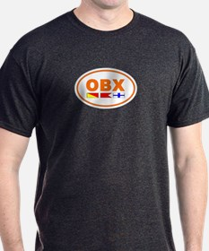 OBX Flag - Orange T-Shirt