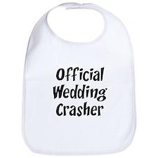 Wedding Crasher Bib