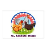 All American Breeds Postcards (Package of 8)