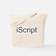 iScript Tote Bag
