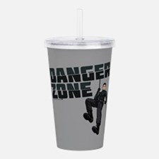 Archer Danger Zone Acrylic Double-wall Tumbler