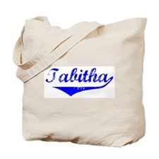Tabitha Vintage (Blue) Tote Bag