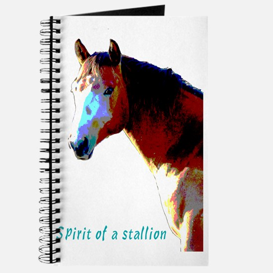Cute Horse mad Journal