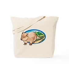 Australia Wombat Tote Bag