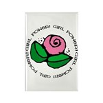 Girl Power Flower Rectangle Magnet (100 pack)