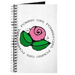 Girl Power Flower Journal