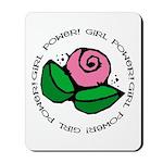 Girl Power Flower Mousepad