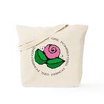 Girl Power Flower Tote Bag