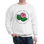 Girl Power Flower Sweatshirt
