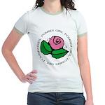 Girl Power Flower Jr. Ringer T-Shirt