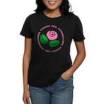 Girl Power Flower Women's Dark T-Shirt