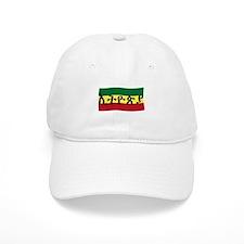 ETHIOPIA -- Amharic with Flag Baseball Cap