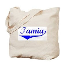 Tamia Vintage (Blue) Tote Bag