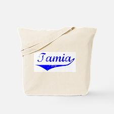 Tamia Vintage (Blue) Tote Bag