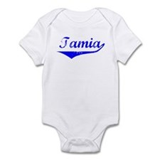 Tamia Vintage (Blue) Infant Bodysuit