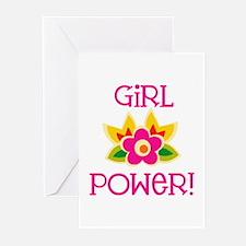 Flower Girl Power Greeting Cards (Pk of 20)
