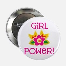"Flower Girl Power 2.25"" Button (10 pack)"