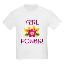 Flower Girl Power T-Shirt