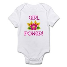 Flower Girl Power Infant Bodysuit