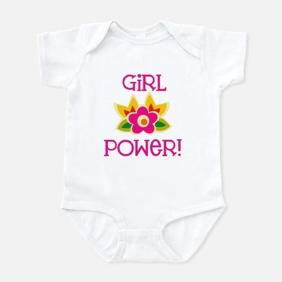 Flower Girl Power Infant Bodysuit