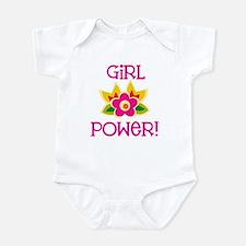 Flower Girl Power Onesie