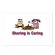 Sharing is Caring Postcards (Package of 8)
