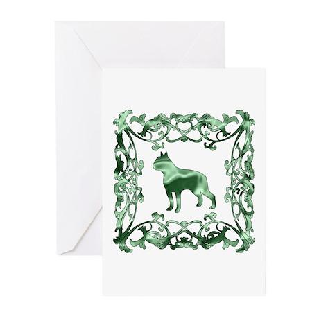 Boston Terrier Greeting Cards (Pk of 10)