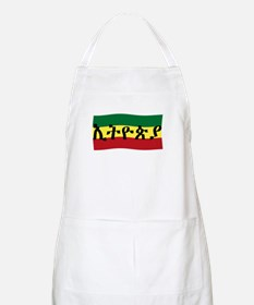 ETHIOPIA -- Amharic with Flag BBQ Apron