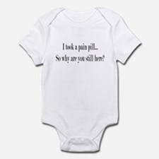 Pain Pill Infant Bodysuit