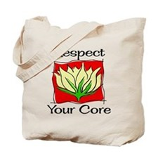 Pilates Respect Your Core Tote Bag