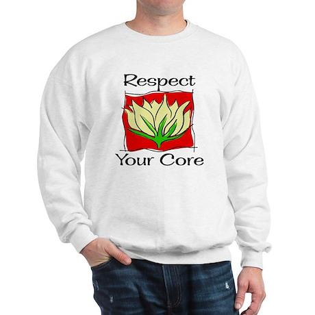 Pilates Respect Your Core Sweatshirt