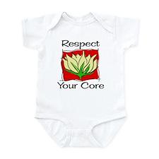 Pilates Respect Your Core Infant Bodysuit