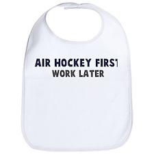 Air Hockey First Bib