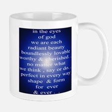329. in the eyes of god... Mug