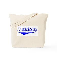 Taniya Vintage (Blue) Tote Bag