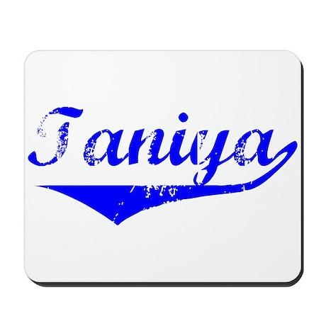 Taniya Vintage (Blue) Mousepad