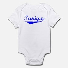 Taniya Vintage (Blue) Infant Bodysuit
