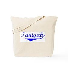 Taniyah Vintage (Blue) Tote Bag