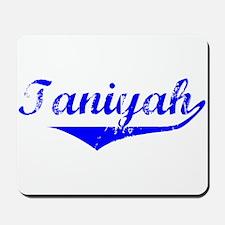 Taniyah Vintage (Blue) Mousepad