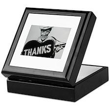 Ernest Tubb (Thanks) Keepsake Box
