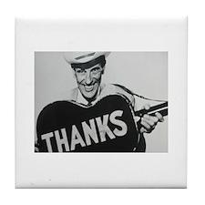 Ernest Tubb (Thanks) Tile Coaster