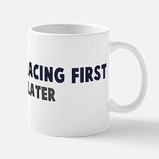 Adventure Racing First Small Small Mug