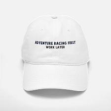 Adventure Racing First Baseball Baseball Cap