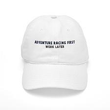 Adventure Racing First Baseball Cap