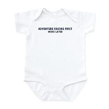 Adventure Racing First Infant Bodysuit