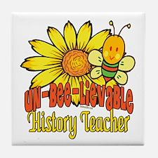Unbelievable Teacher Tile Coaster