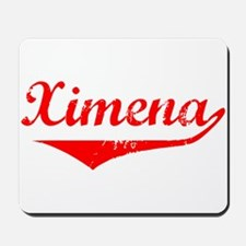 Ximena Vintage (Red) Mousepad