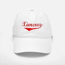 Ximena Vintage (Red) Baseball Baseball Cap