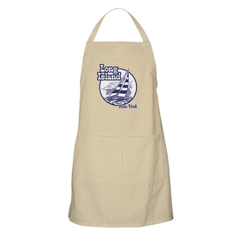 Long island New York BBQ Apron