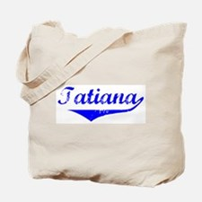 Tatiana Vintage (Blue) Tote Bag